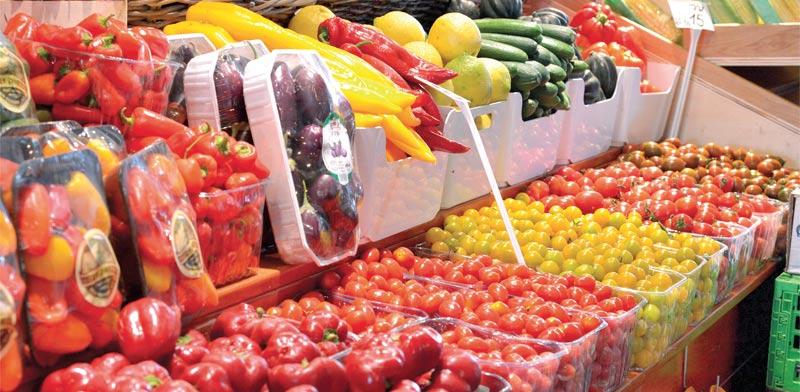 ירקות בשוק תל אביב / צילום: תמר מצפי