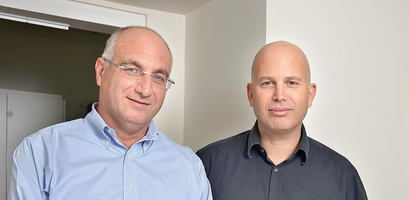 רפי ליפא (מימין) וגל עמית / צילום: תמר מצפי