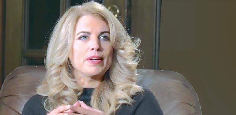 אליזבת' פאריש / צילום: מתוך ראיון עמה ביוטיוב
