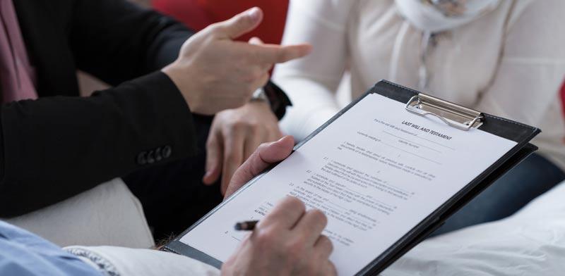 עריכת צוואה / צילום:  Shutterstock/ א.ס.א.פ קרייטיב