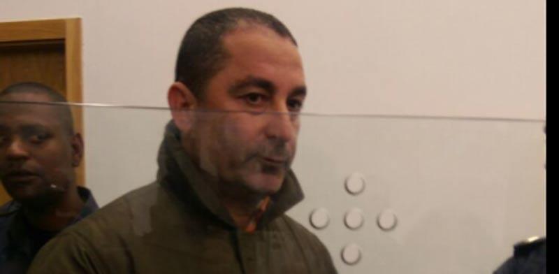 ג'קי בן זקן במדי אסיר/ צילום:חן מענית