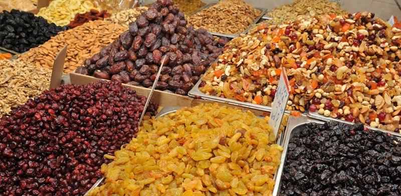 פירות יבשים / צילום: תמר מצפי