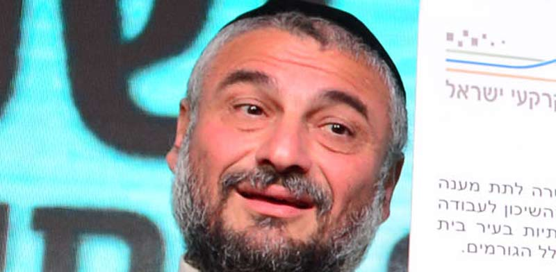Beit Shemesh Mayor Moshe Abutbul Photo; Kobi Gidon GPO