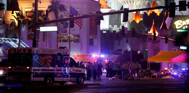 הפיגוע בלאס וגאס / צילום: רויטרס