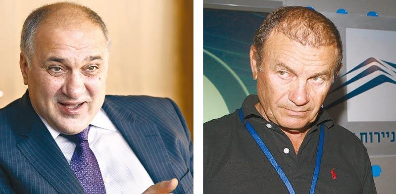 מאיר דור (מימין) ואלכסנדר נסיס, / צילום: עינת לברון ובלומברג