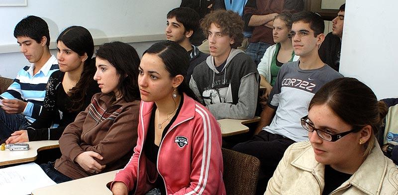תלמידי תיכון / צילום: איל יצהר