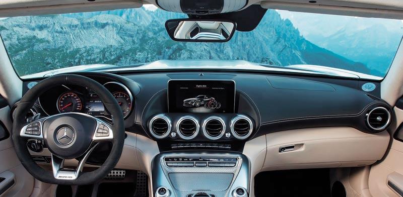 מרצדס AMG-GT/ צילום: יחצ