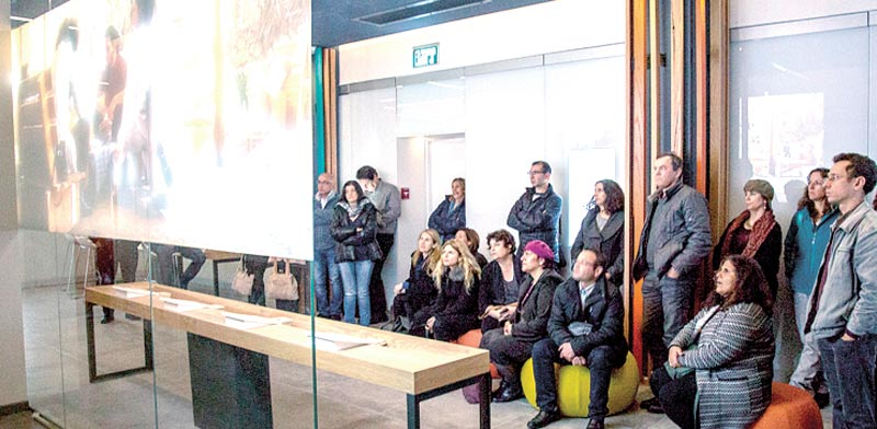מרכז המבקרים של תנועת אור בבאר שבע/ צילום: עמותת אור