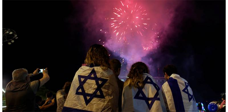 Israel Independence Day celebrations photo: Reuters