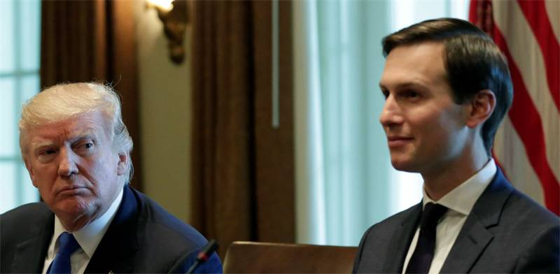 Jared Kushner and Donald Trump Photo: Reuters
