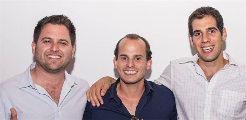 מימין: סיימון לגזיאל, גיא קצוביץ ויאיר ורדי / צילום: קורי שרווד