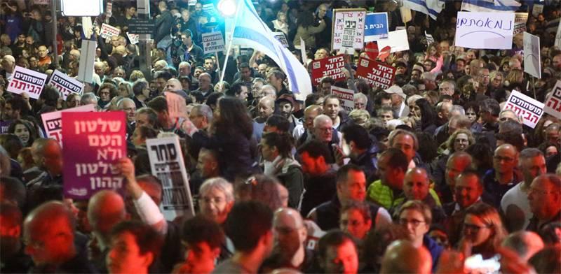Tel Aviv demonstration photo: Shlomi Yosef
