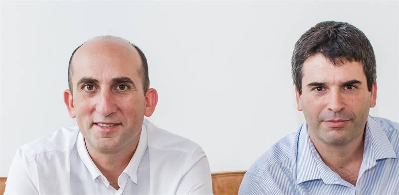 Yoav Levy and Yonatan Appel Photo: PR