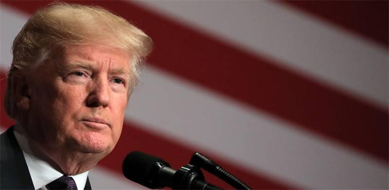 """נשיא ארה""""ב דונלד טראמפ / צילום: רויטרס, Carlos Barria"""