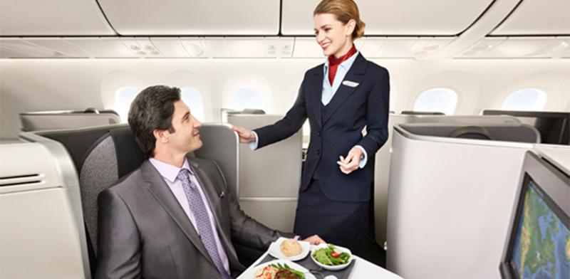 מה כוללת הטיסה במחלקת העסקים באייר קנדה/ צילום:אתר אייר קנדה