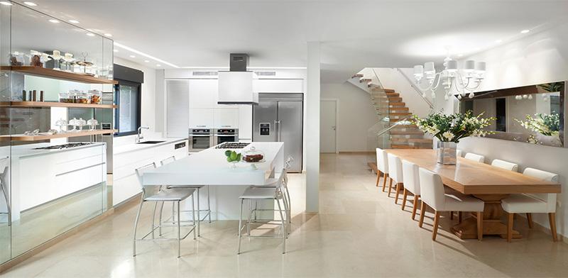 האירוח עובר למטבח: איך הפך המטבח העכשווי לסלון הבית?