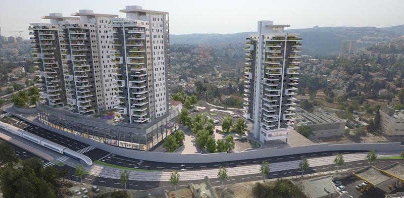 מכרז דירה להשכיר בירושלים אשטרום / קרדיט הדמיה: 3Ddesign