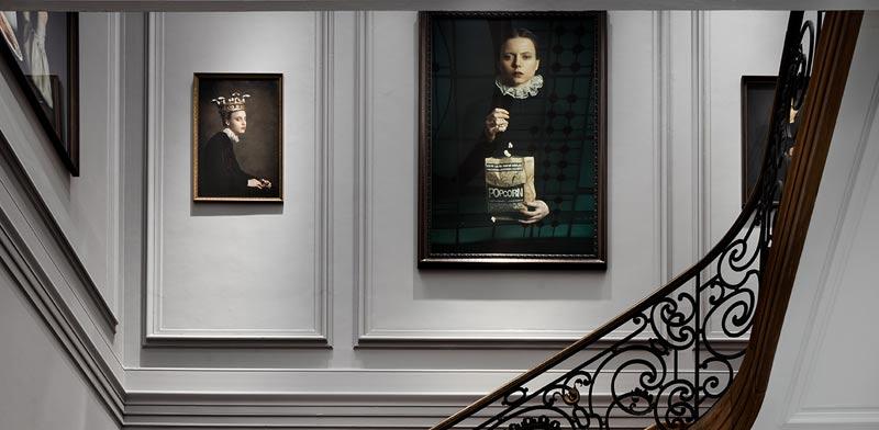 ,תערוכה של האמנית רומינה רסייה / צילום:Maxime Delvaux