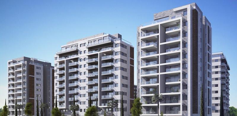 אזורים זכתה במכרז לבניית 284 דירות להשכרה באור יהודה / צילום: קרדיט הדמיה: 3DESIGN