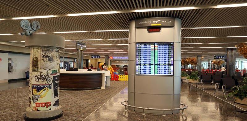 """טרמינל 1 בנתב""""ג / צילום: סיוון פרג'"""