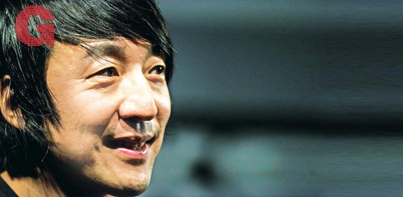 "אלכס צ'אנג, מנכ""ל גיפי / צילום: David Paul Morris, Bloomberg"