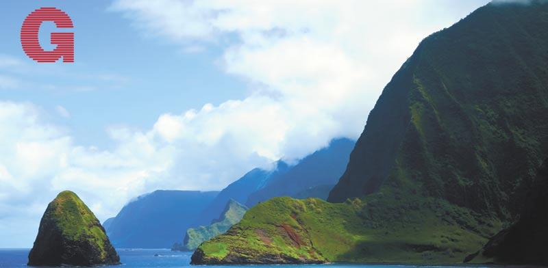צוקי הים הגבוהים במולוקאי / צילום: אביחי בן צור