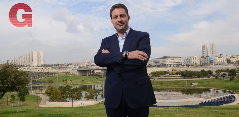 חיים ביבס ראש עיריית מודיעין מכבים רעות / צילום: איל יצהר