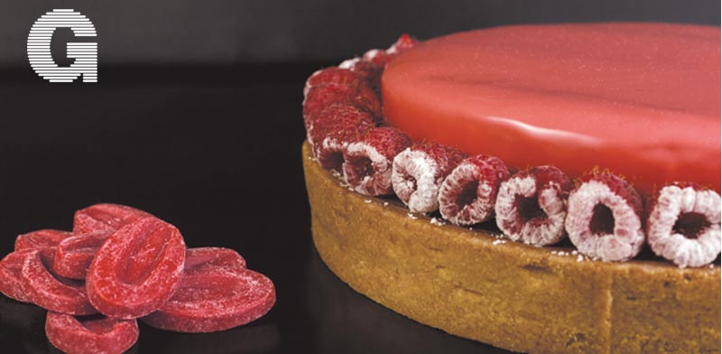 טארט תות עם שוקולד הפרי של ולרונה/ צילום: דני גולן