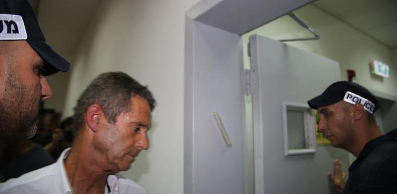 בני שטיינמץ הארכת מעצר / צילום: אמיר גוטפריד