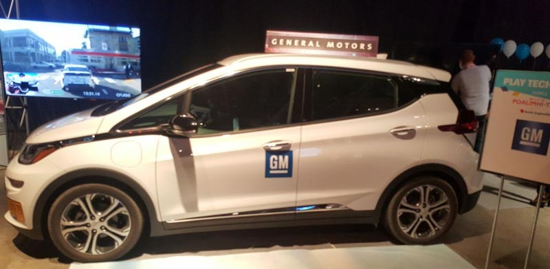 GM BOLT electric car Photo: PR
