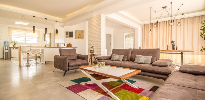 """פנטהאוז בפרויקט סיזר ריזורט, דירה מרוהטת קומפלט עד הפרט האחרון. צילום: יח""""צ"""