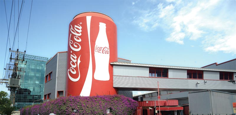 Bnei Brak Coca Cola factory Photo: Eyal Yitzhar