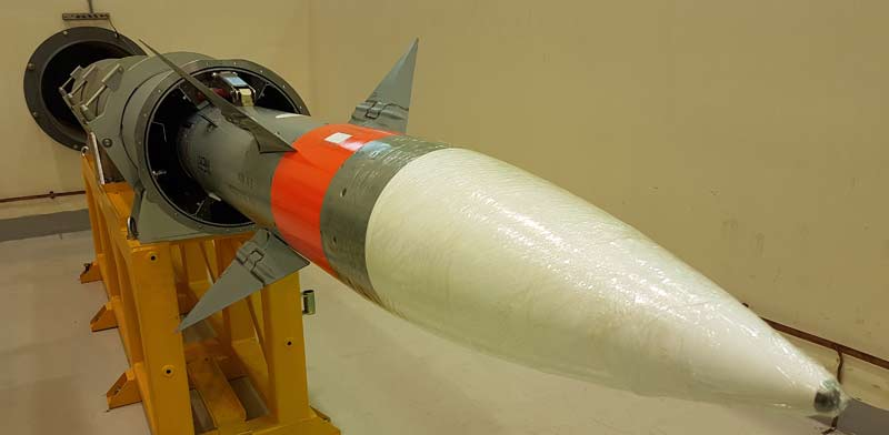 LSRAM missile Photo: PR