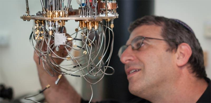 Prof. Nadav Katz  photo courtesy Hebrew University