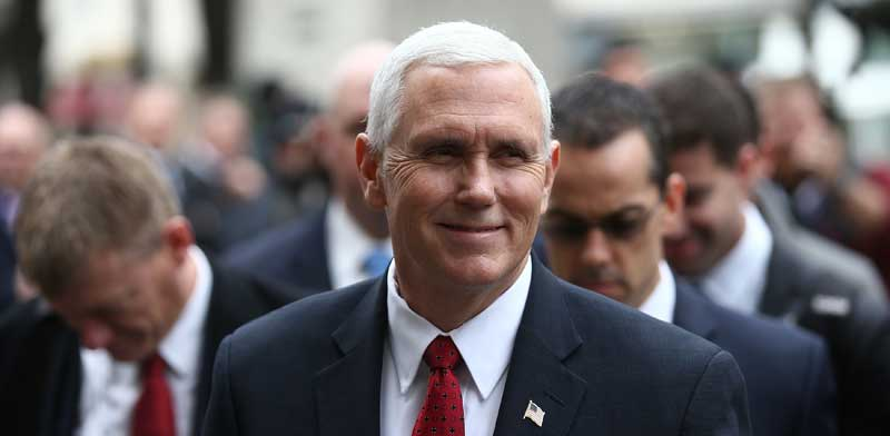 Mike Pence photo: Reuters