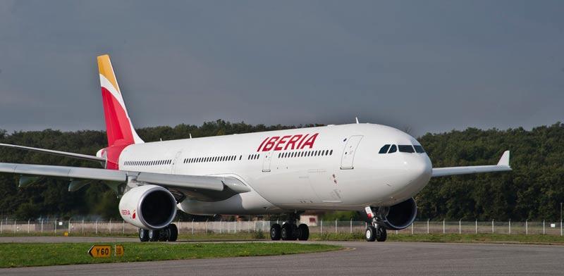 מטוס של איבריה / צילום: יחצ