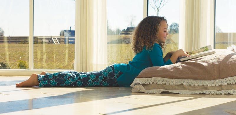 """חימום תת רצפתי של תרמוטק - מחמם את כל הגוף ומייצר אווירה נעימה בבית / צילום: יח""""צ"""