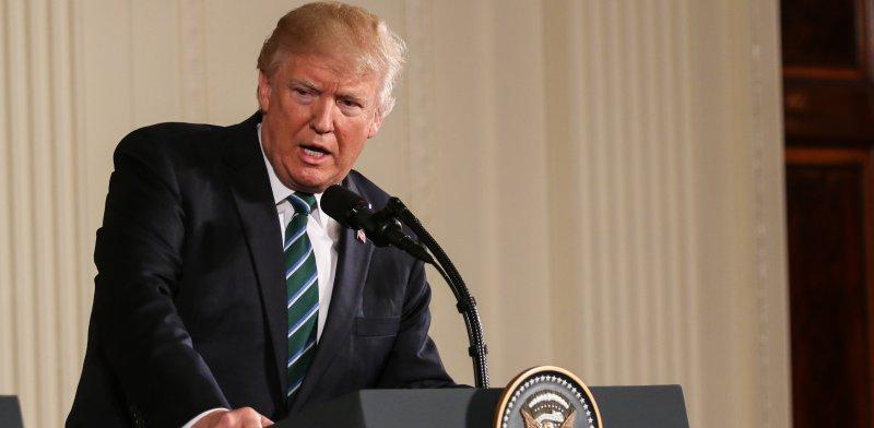 """נשיא ארה""""ב, דונלד טראמפ / צילום: שאטרסטוק, א.ס.א.פ קריאייטיב"""