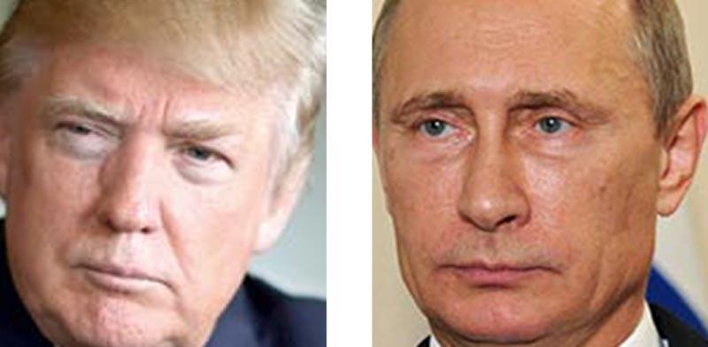 ולדימיר פוטין ודונלד טראמפ / צילומים: רויטרס