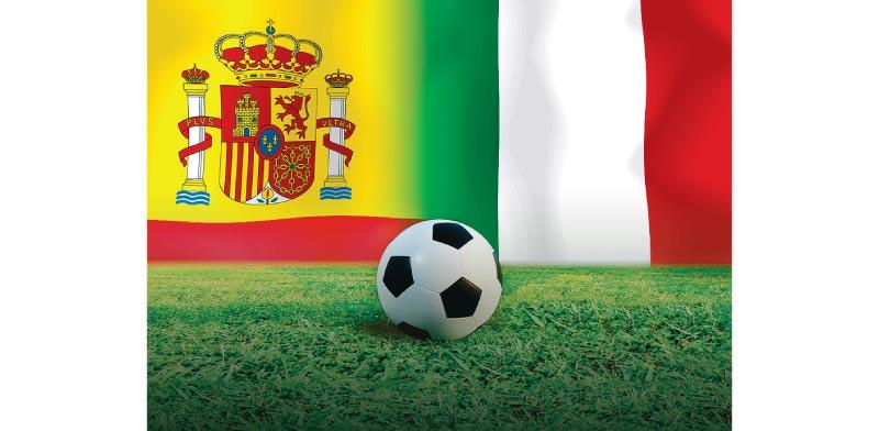 איטליה נגד ספרד / צילום: שאטרסטוק