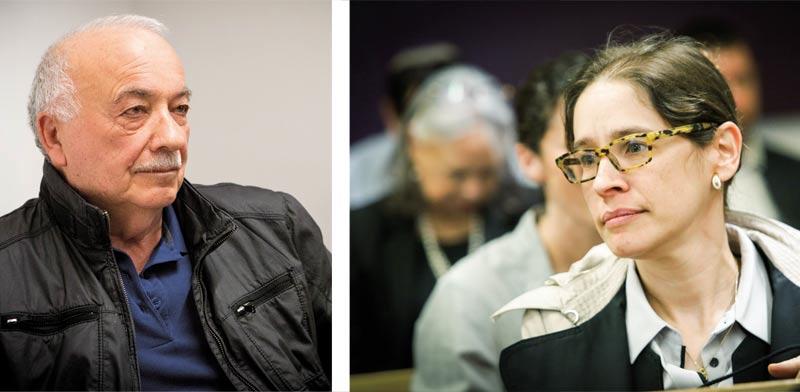 בר און (מימין) ופישמן/שלומי יוסף
