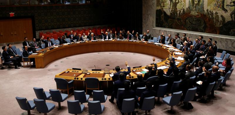 """או""""ם מועצת הביטחון / צילום: רויטרס"""