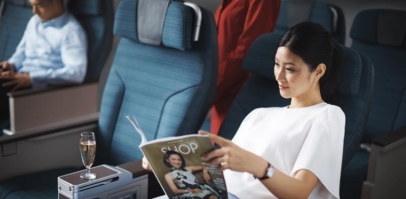 """חברת התעופה הטובה בעולם קתאי פסיפיק נחתה היום לראשונה בישראל / צילום: יח""""צ"""
