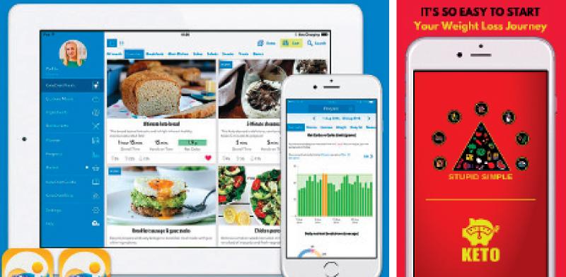 אפליקציות לדיאטה קטוגנית. אין כניסה לפחמימות / צילומי מסך