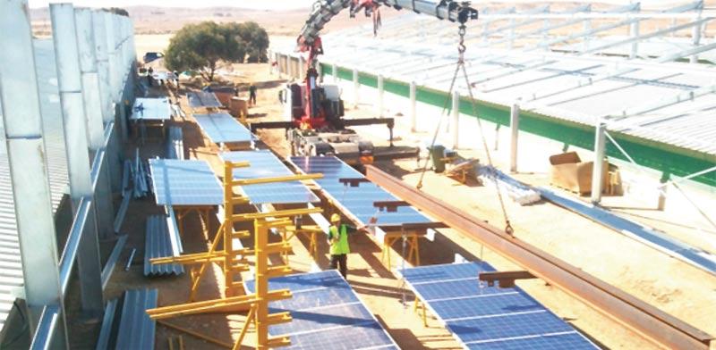 פרויקט בתחום האנרגיה של לקוחה של אל־מור / צילום: מצגת החברה