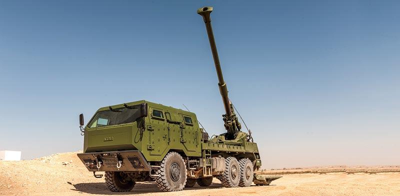 """התותח של אלביט / צילום: יח""""צ"""