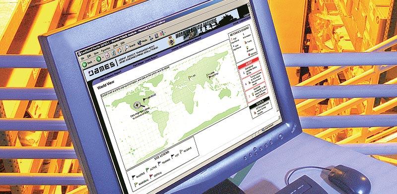 """מערכת ניהול לוגיסטי """"ג'יימס"""" של לוקהיד מרטין / צילום:לוקהיד מרטין"""