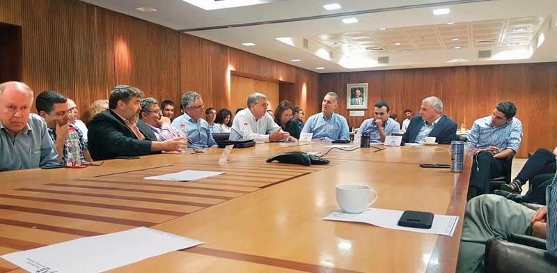 VC industry Treasury meeting