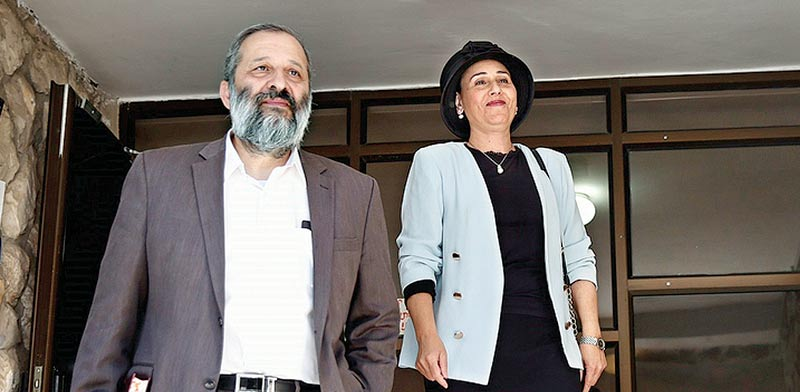 הזוג דרעי, הבוקר /צילום: מגד גוזני, וואלה !NEWS