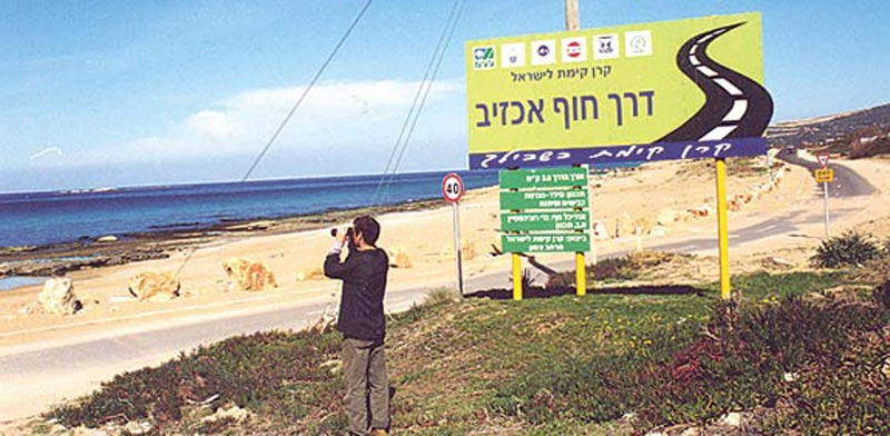 חוף אכזיב / צילום: יחצ